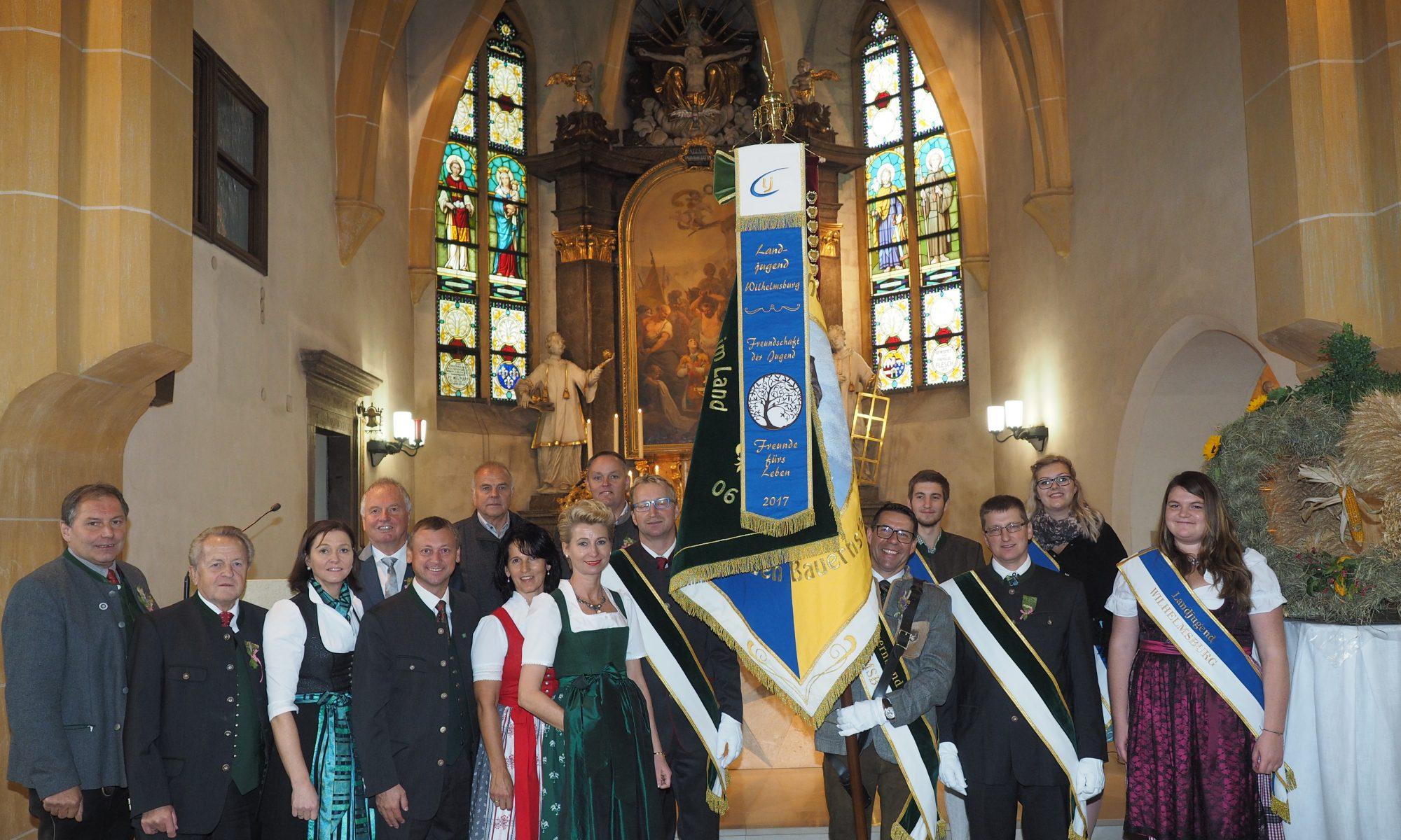 Fahnenweihe Wilhelmsburg Bauernbund